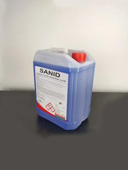 Хигиена на силно замърсен санитарен фаянс Sanid 6 кг
