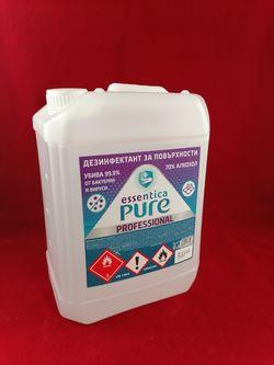 Pure Essentica Дезинфектант за бърза дезинфекция на повтрхности 5л