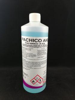 Pachico AHD Биоцид за хигиена и хирургична дезинфекция на ръце и кожа 1л