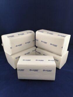 Диспенсърни салфетки за маса лист по лист Lucart E-ONE 6000бр