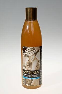 Натурално масажно масло от Поморийска луга и екстракт от розмарин 330мл