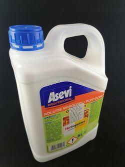 Почиствне на всички видове твърди повърхности Asevi profesional портокал 5л