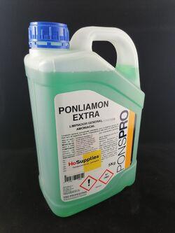Амонячен детергент за почистване на всички видове миещи се настилки Ponliamon Extra 5l