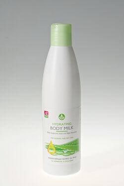 Хидратиращо мляко за кожа с хиалуронова киселина и алое вера 250мл