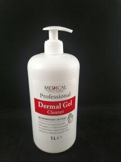 Дезинфектант за ръце Дермал гел 1л Professional