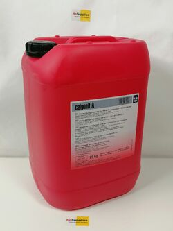 Calgonit A 29kg Киселинен детергент на основата на фосфорна киселина с пеногасител