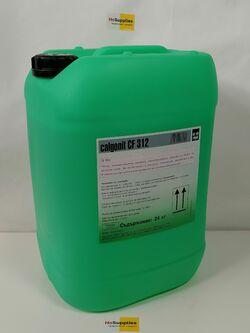 Алкално,концентрирано,течно,пенообразуващо средство на базата на активен хлор Калгонит CF312  24kg